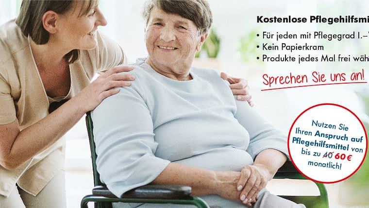 Kostenlose Pflegehilfsmittel